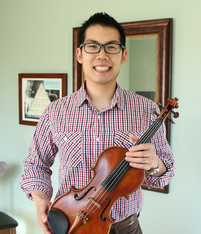 Tim violin picture