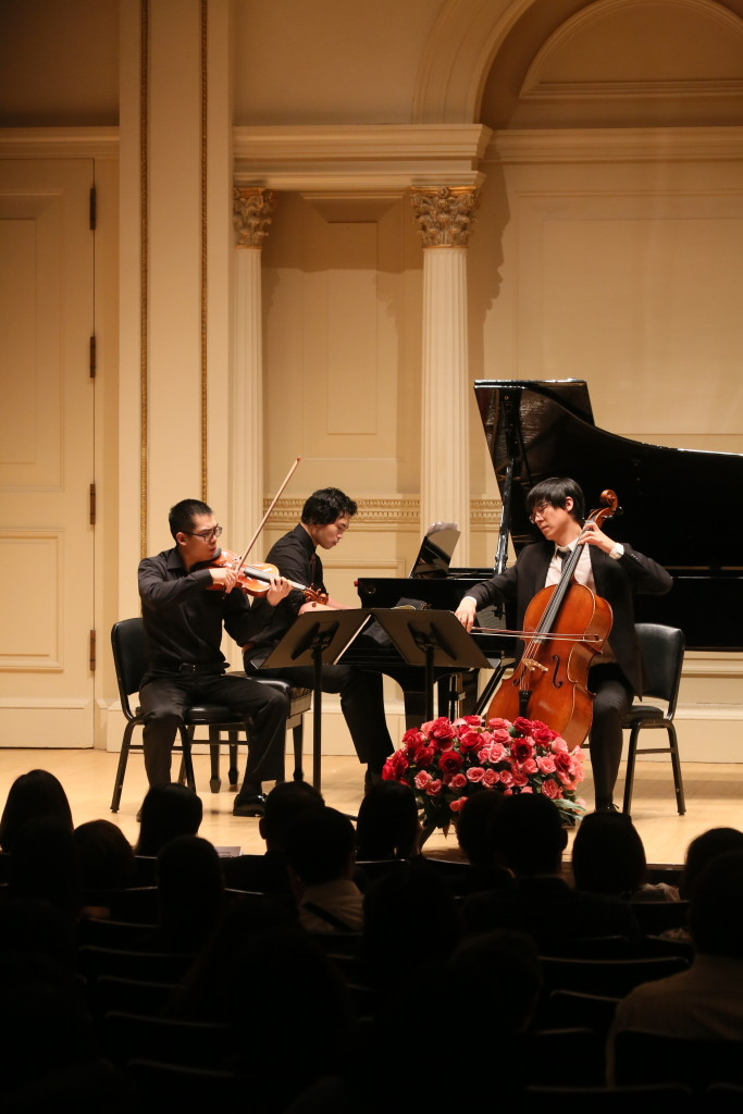 Trio at Carnegie Hall